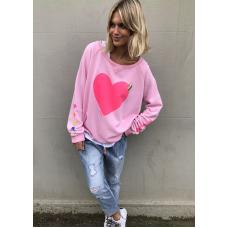 Hammill & Co Pastal pink heart
