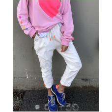 HAMMILL & CO - slouchy white jean