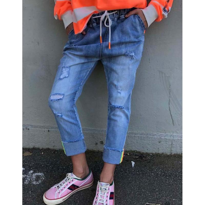 Cat Hammill - slouchy jean