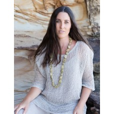 Beaded necklace  - Marble - sustainable jewellery