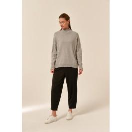Tirelli Step Cuff knit - grey