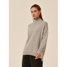Tirelli Step Cuff knit - grey