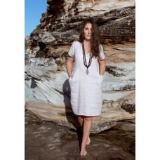 Linseed Designs Vikki Linen Dress - natural