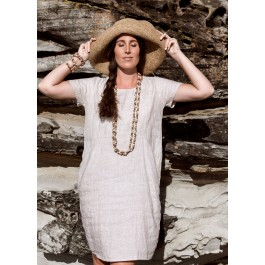 Linseed Designs Linen Molly Dress in natural