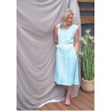 Victoria dress - Aqua
