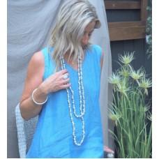 Kelli dress - Ocean blue (blue & light blue)