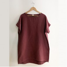 Holly shift dress/top - Scarlet