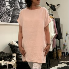 Holly shift dress - blush
