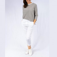 Italian Stretch Jean/Pant - WHITE - 91732
