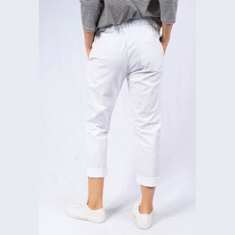 Italian Stretch Jean/Pant - WHITE - 91732