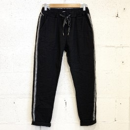 Italian Stretch Jean/Pant - BLACK