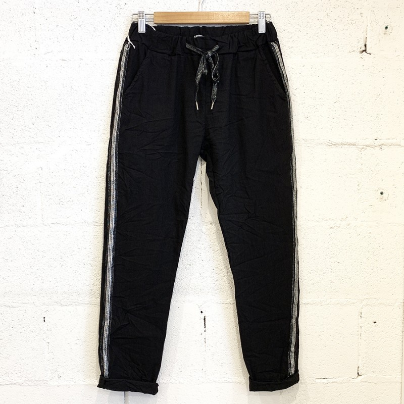 Italian Stretch Jean/Pant - BLACK