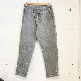 Italian Stretch Jean/Pant - GREY