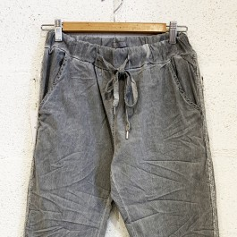 Italian Stretch Jean/Pant - GREY