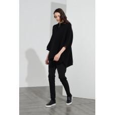 Cotton Rib Knit - black