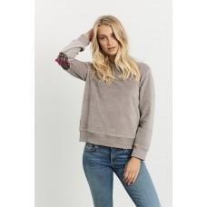 Velour Plaid Windy - Dove Grey