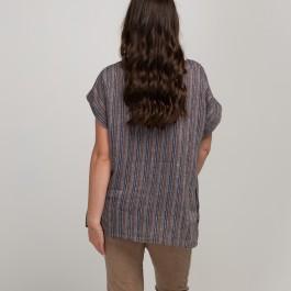 Lily Stripe Linen Top