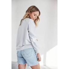 Jovie The Label Freedom cotton sweater - Ice Blue